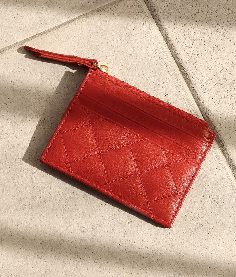 リアルレザーフラグメントケース(ファッション雑貨/財布 ・長財布・二つ折り(折りたたみ財布) ) | Alluge