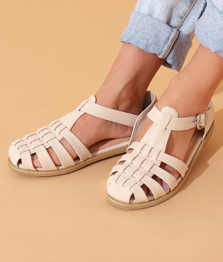グルカ合皮サンダル(シューズ・靴/サンダル) | anap mimpi