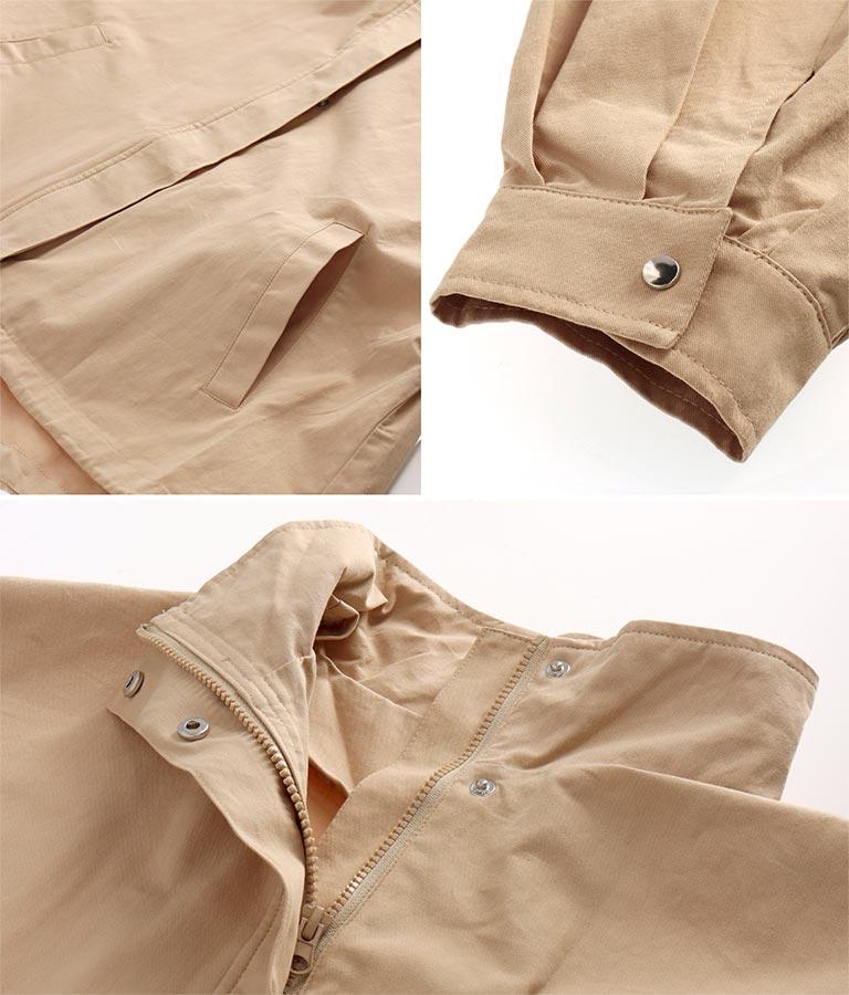 ボリューム袖ソフトツイルブルゾン(アウター(コート・ジャケット) /ジャケット・ブルゾン) | anap mimpi