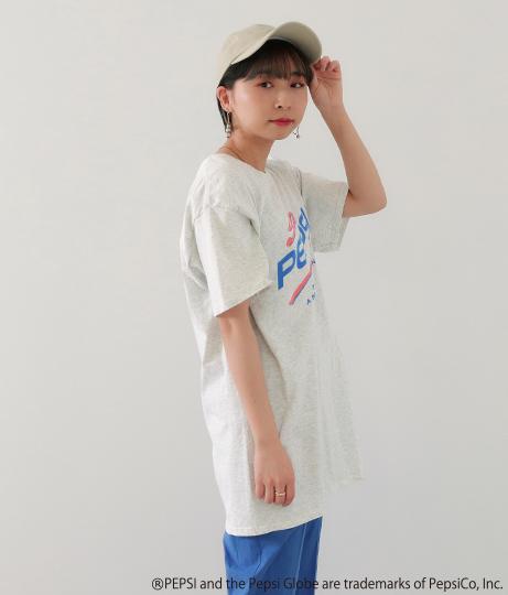 PEPSIプリントTシャツ(トップス/Tシャツ) | Factor=
