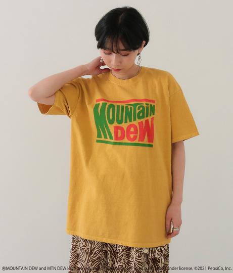Mountain Dew プリントTシャツ