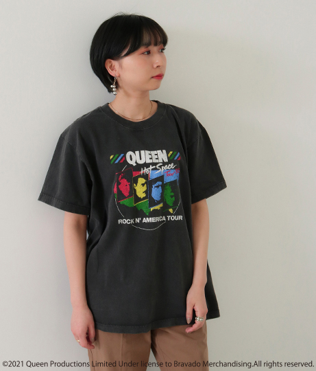 QUEENプリントTシャツ(トップス/Tシャツ) | Factor=