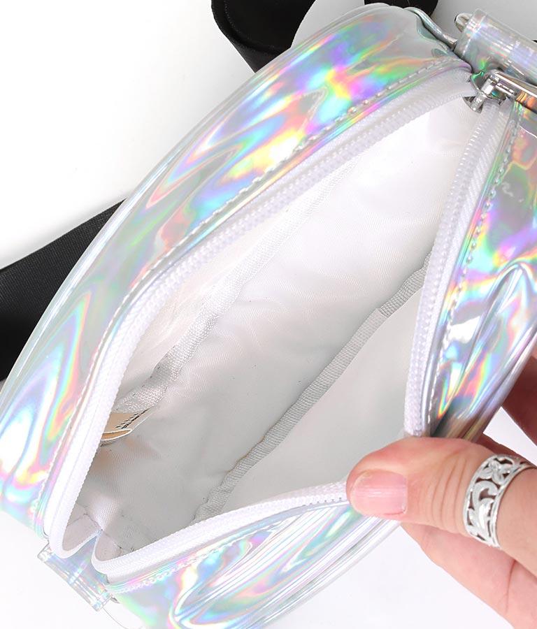 ハートワッペンオーロラバッグ(バッグ・鞄・小物/ショルダーバッグ) | ANAP KIDS