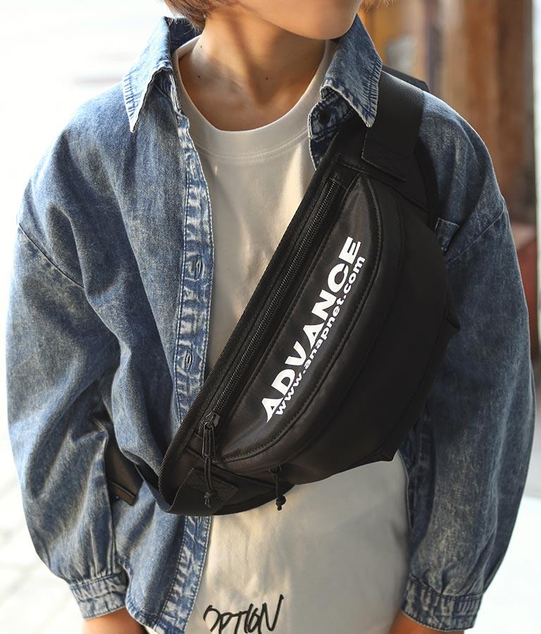 ロゴプリントウエストポーチ(バッグ・鞄・小物/ショルダーポシェット)   ANAP KIDS