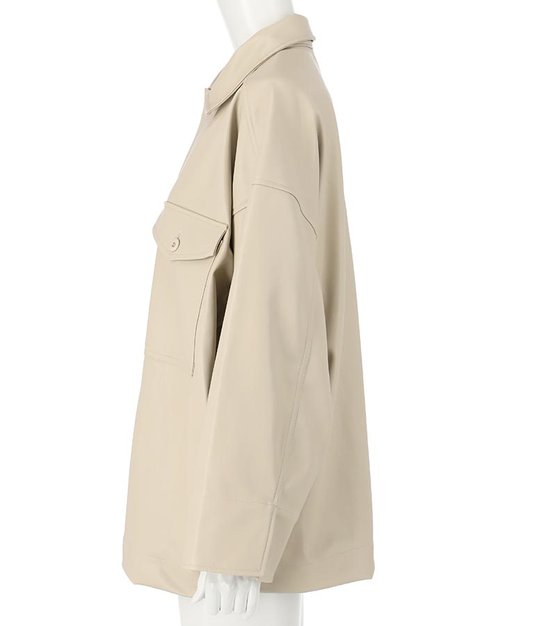 BIGシャツジャケット(アウター(コート・ジャケット) /ジャケット・ブルゾン) | Alluge