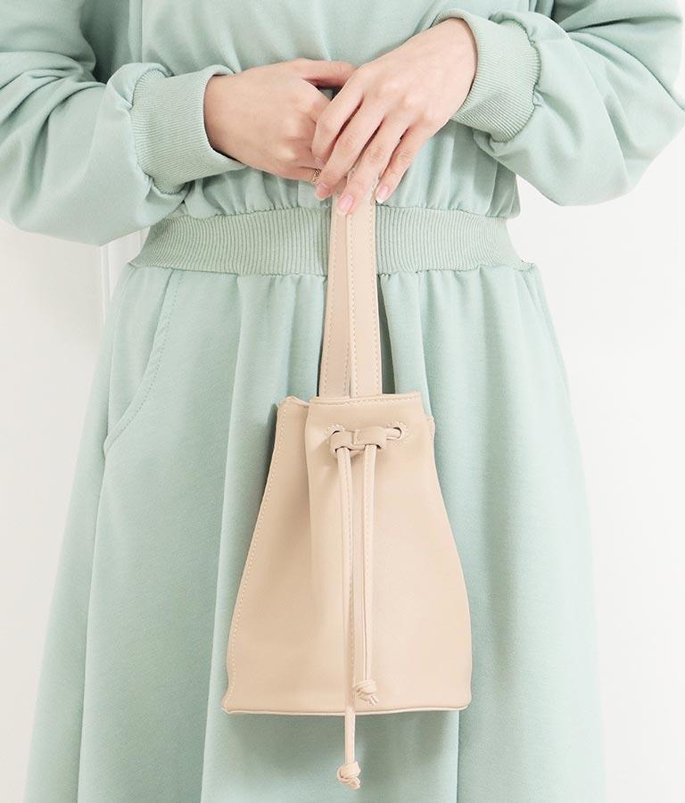 ミニ巾着バッグ(バッグ・鞄・小物/ハンドバッグ) | CHILLE