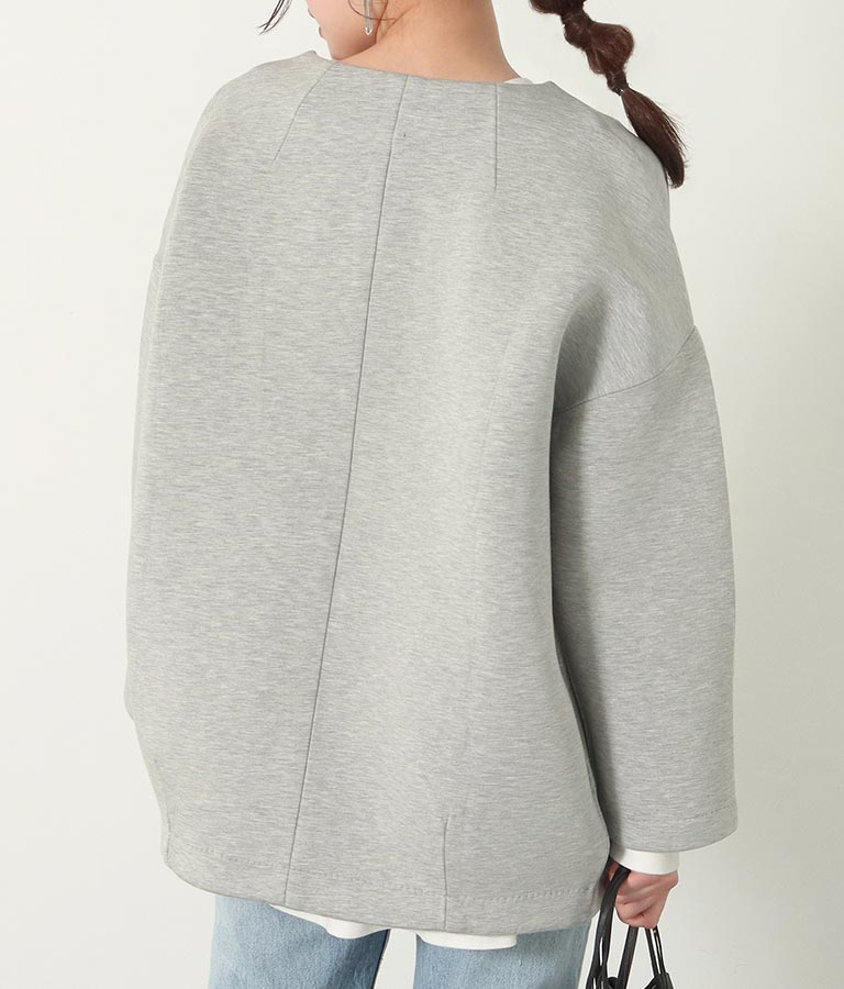ボンディングコクーンジャケット(アウター(コート・ジャケット) /ジャケット・ブルゾン) | Alluge