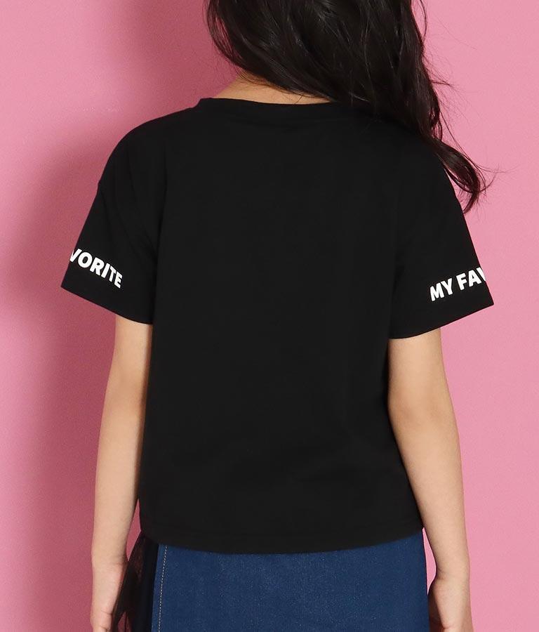 クリアハートワッペントップス(トップス/Tシャツ) | ANAP GiRL