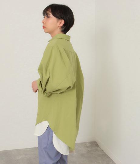 ドルマンスリーブシャツジャケット(アウター(コート・ジャケット) /ジャケット・ブルゾン) | Factor=