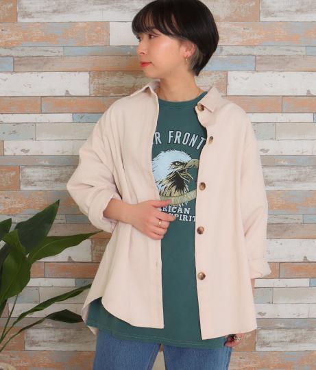 ドルマンスリーブシャツジャケット