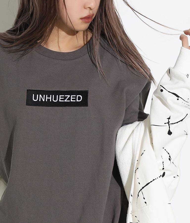 ユニセックスヘビーウェイトボックスロゴ刺繍Tシャツ | ANAP