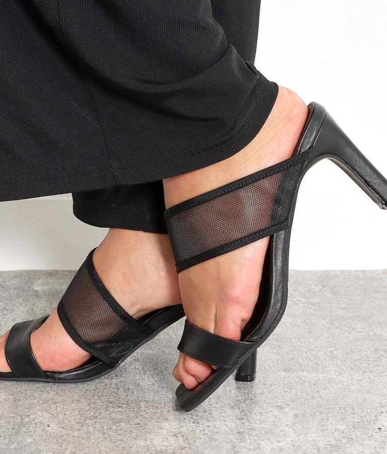 メッシュ切替スクエアトゥミュール(シューズ・靴/サンダル) | anap Latina