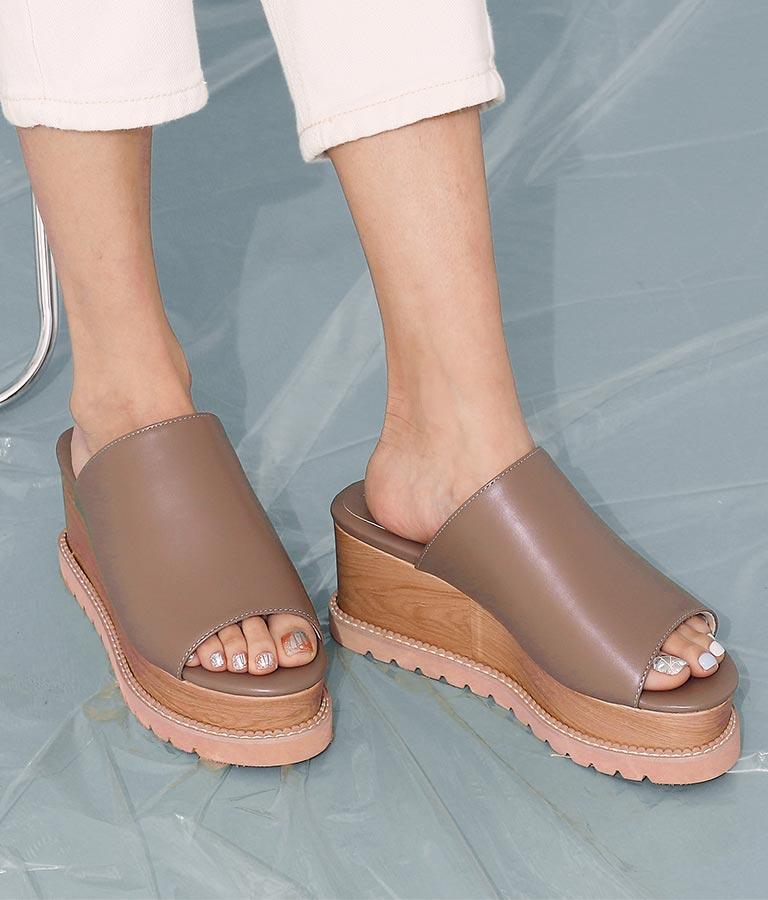 ウェッジソールサンダル(シューズ・靴/サンダル) | ANAP