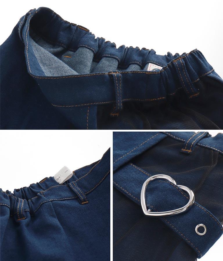 チュール切り替えスカパン(ボトムス・パンツ /ショートパンツ・スカート) | ANAP KIDS
