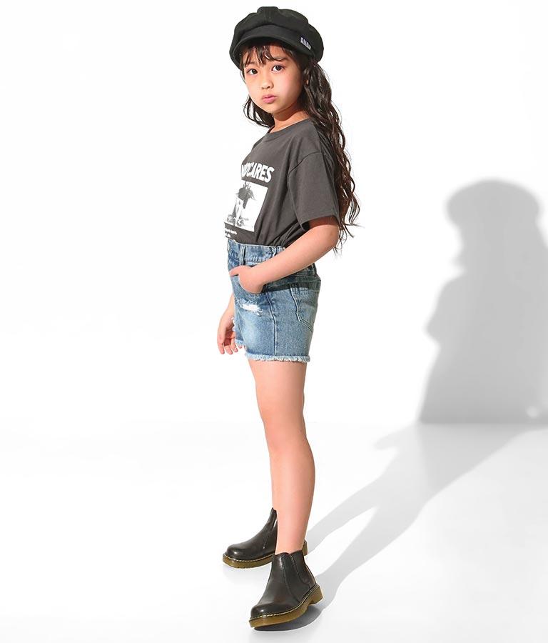 クラッシュデニムショートパンツ(ボトムス・パンツ /ショートパンツ) | ANAP KIDS