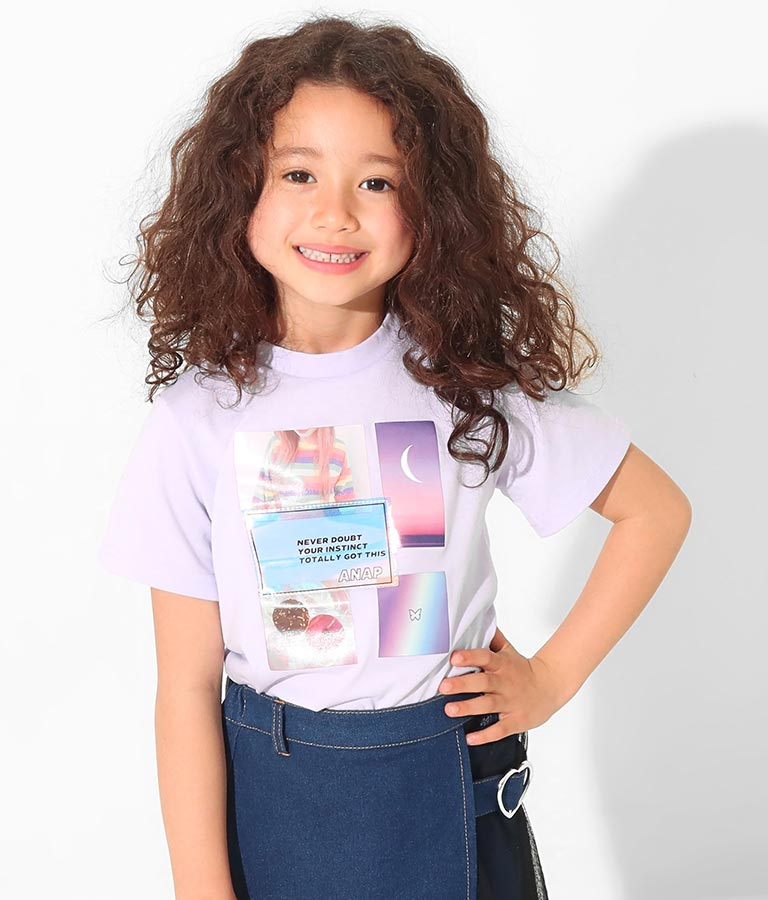 フォトチュニックトップス(トップス/Tシャツ・チュニック・ロングTシャツ) | ANAP KIDS