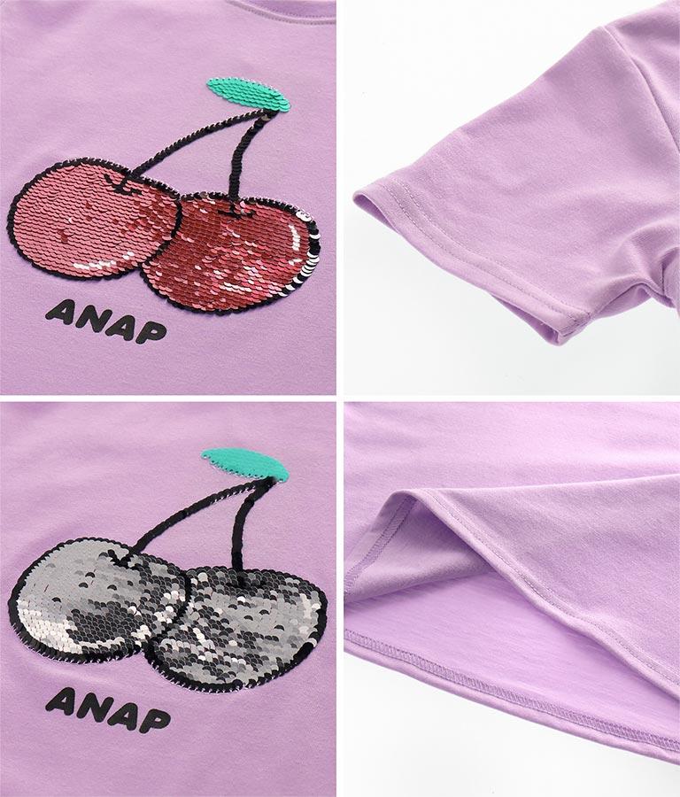 チェリースパンコールチュニック(トップス/Tシャツ・チュニック) | ANAP KIDS