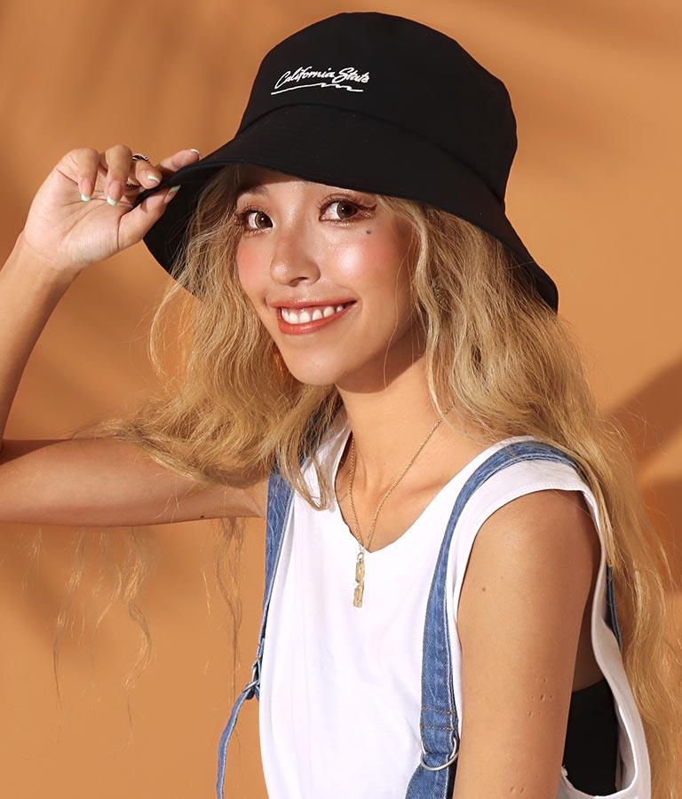 刺繍ロゴ入りバケットハット(ファッション雑貨/ハット・キャップ・ニット帽 ・キャスケット・ベレー帽) | anap mimpi