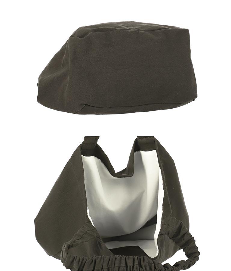 シュシュハンドルプリントトートバッグ(バッグ・鞄・小物/トートバッグ)   anap mimpi