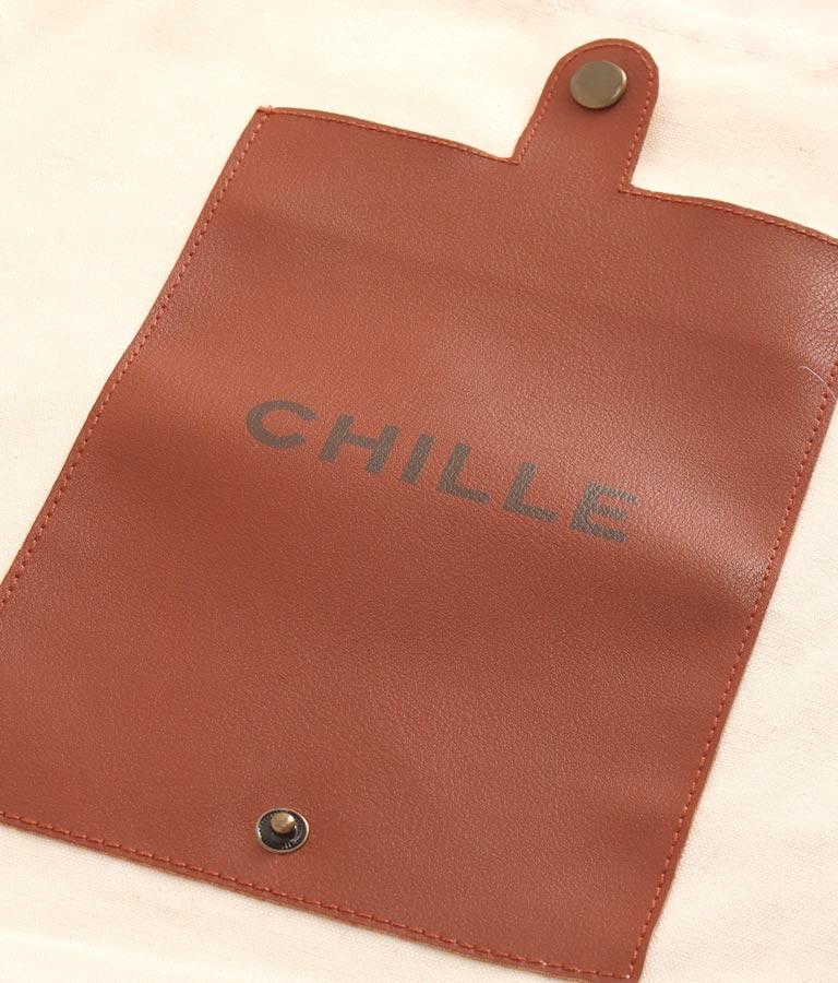 合皮切替キャンバス生地エコバッグ(バッグ・鞄・小物/トートバッグ) | CHILLE