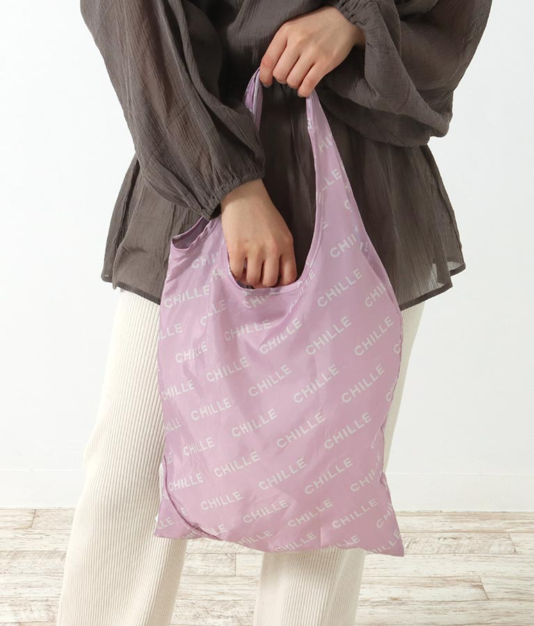 ロゴ入りエコバッグ(バッグ・鞄・小物/トートバッグ) | CHILLE