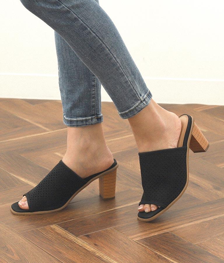 パンチングデザインサンダル(シューズ・靴/サンダル) | CHILLE