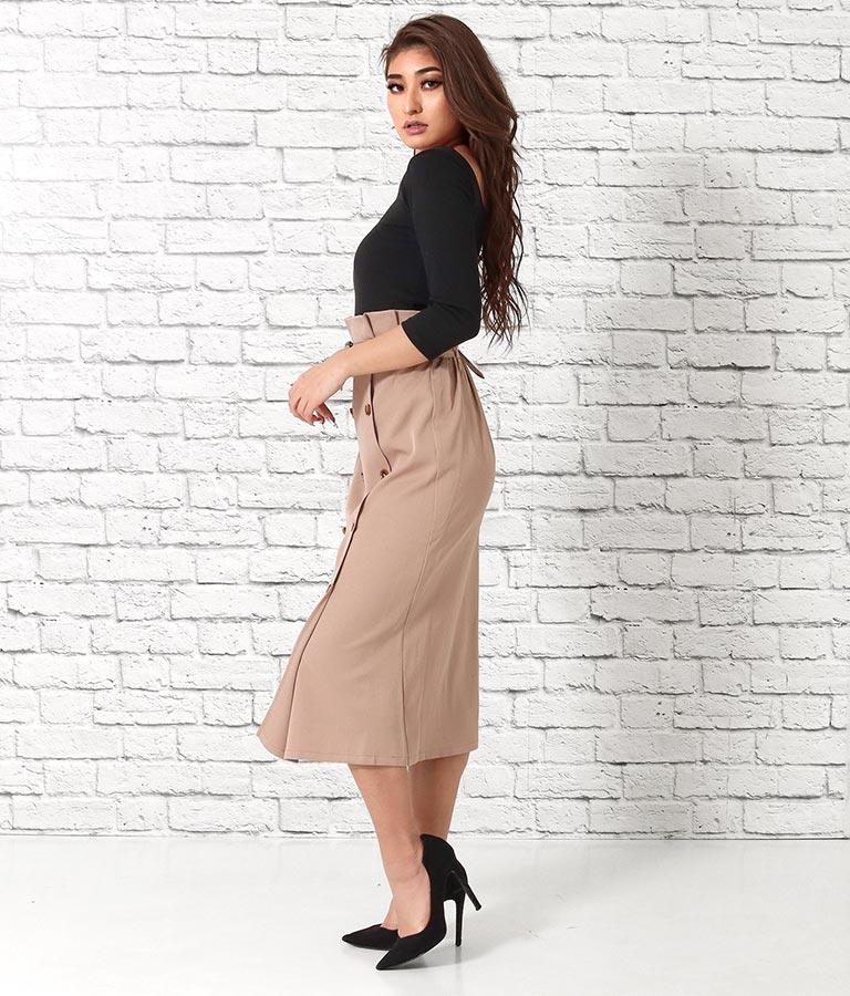 トレンチロングスカート(ボトムス・パンツ /スカート)   anap Latina