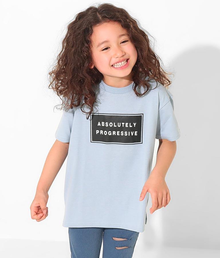 吸水速乾ボックスロゴビッグTシャツ(トップス/Tシャツ) | ANAP KIDS