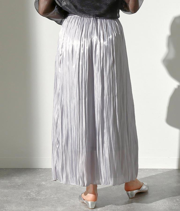 シャイニーワッシャースカート(ボトムス・パンツ /スカート) | Alluge