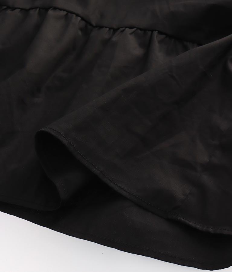 ティアードハイネックワンピース(ワンピース・ドレス/ロングワンピ) | Alluge
