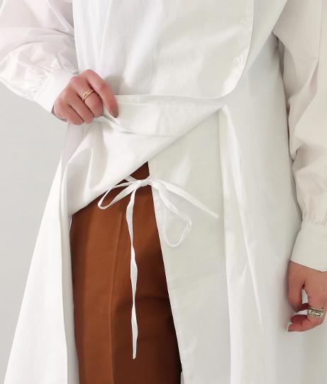 タイプライターシャツドレス(トップス/ミディアムワンピ) | Factor=