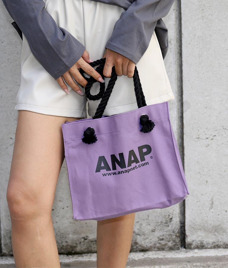ANAPロゴキャンバスミニトートバッグ(バッグ・鞄・小物/トートバッグ)   ANAP