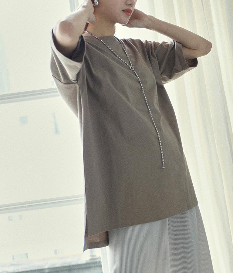 サイドスリットオーバーサイズTシャツ(トップス/Tシャツ) | ANAP