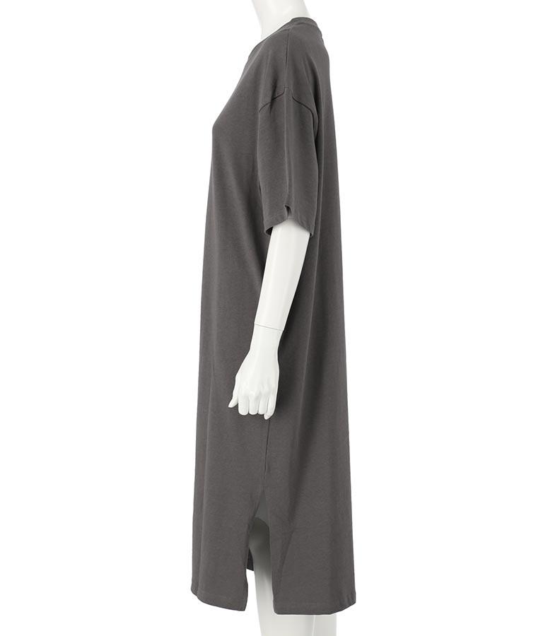 ユッタリシルエットコットンTシャツワンピース(ワンピース・ドレス/ロングワンピ) | anap mimpi