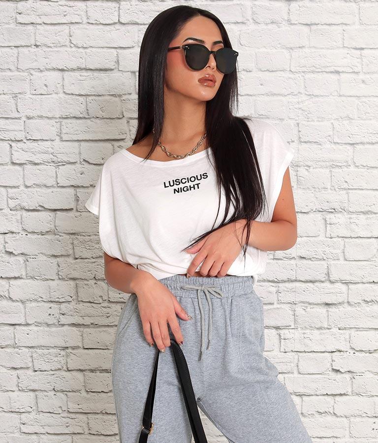 ポイントロゴゆるてろTシャツ(トップス/Tシャツ・カットソー ) | anap Latina