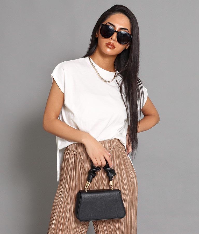 サイドスリットフレンチスリーブトップス(トップス/Tシャツ・カットソー ) | anap Latina