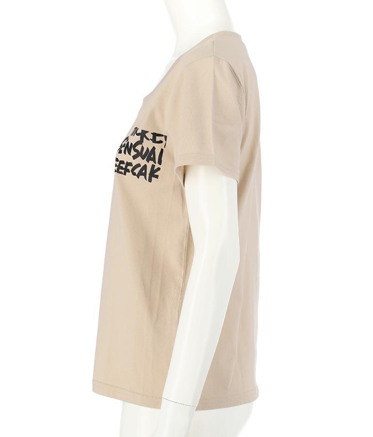 グラフティ深UネックTシャツ(トップス/Tシャツ)   anap Latina