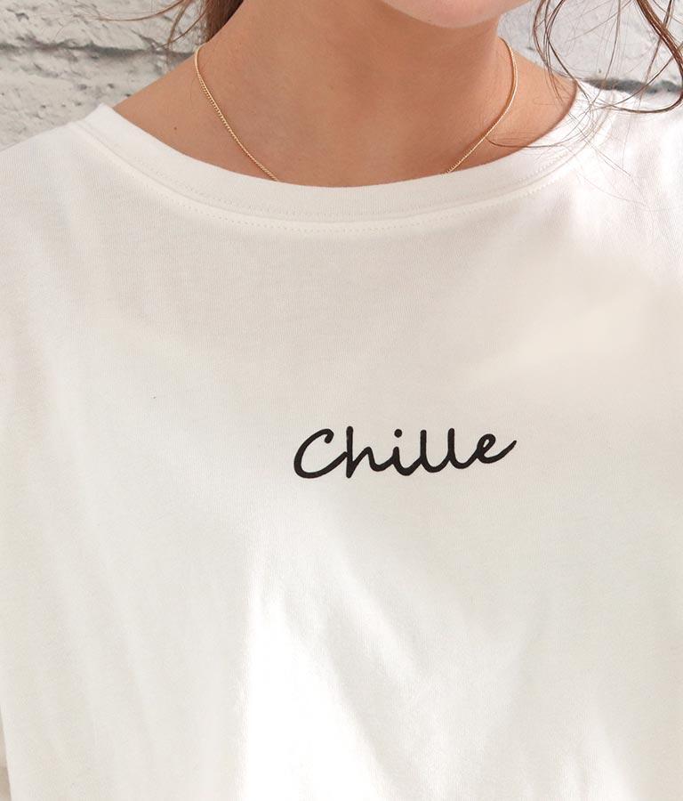 ロゴプリントロンT | CHILLE