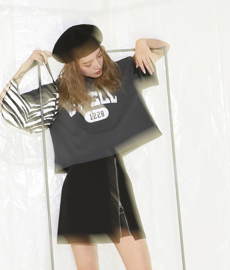 リングジップミニスカート(ボトムス・パンツ /スカート) | ANAP
