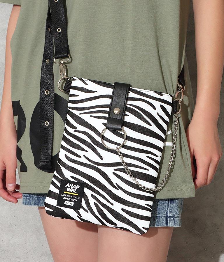3パターンチェーン付ショルダーバッグ(バッグ・鞄・小物/ショルダーバッグ) | ANAP GiRL