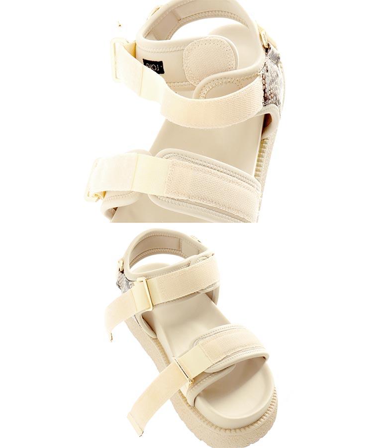 スポーティプラットフォームサンダル(シューズ・靴/サンダル)   Alluge