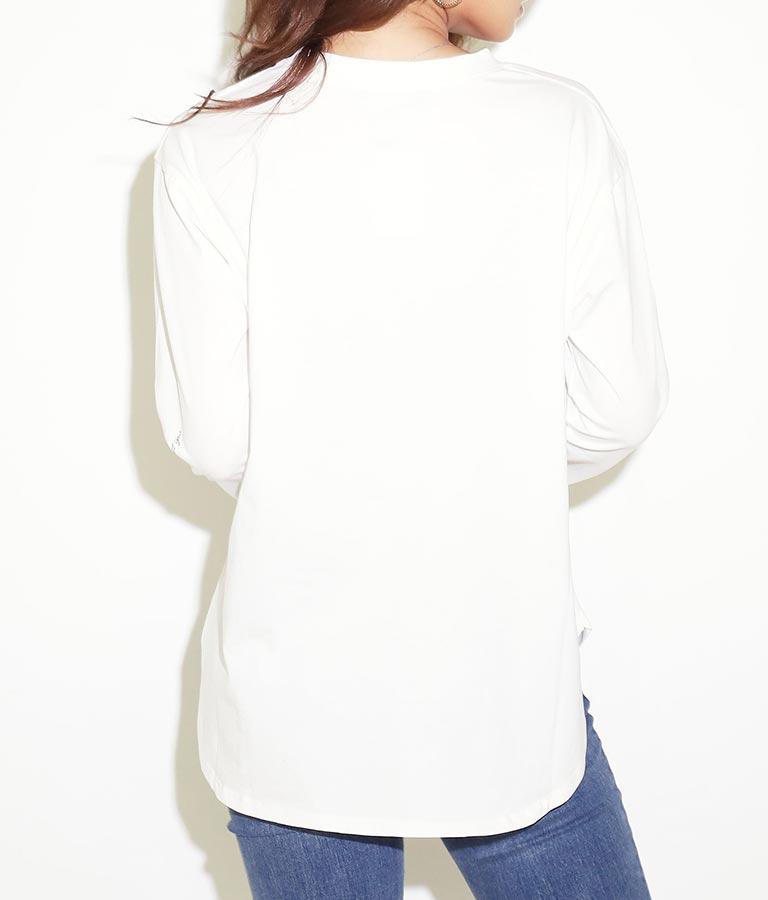 フォトプリントロンT(トップス/Tシャツ・カットソー ・ロングTシャツ) | anap Latina