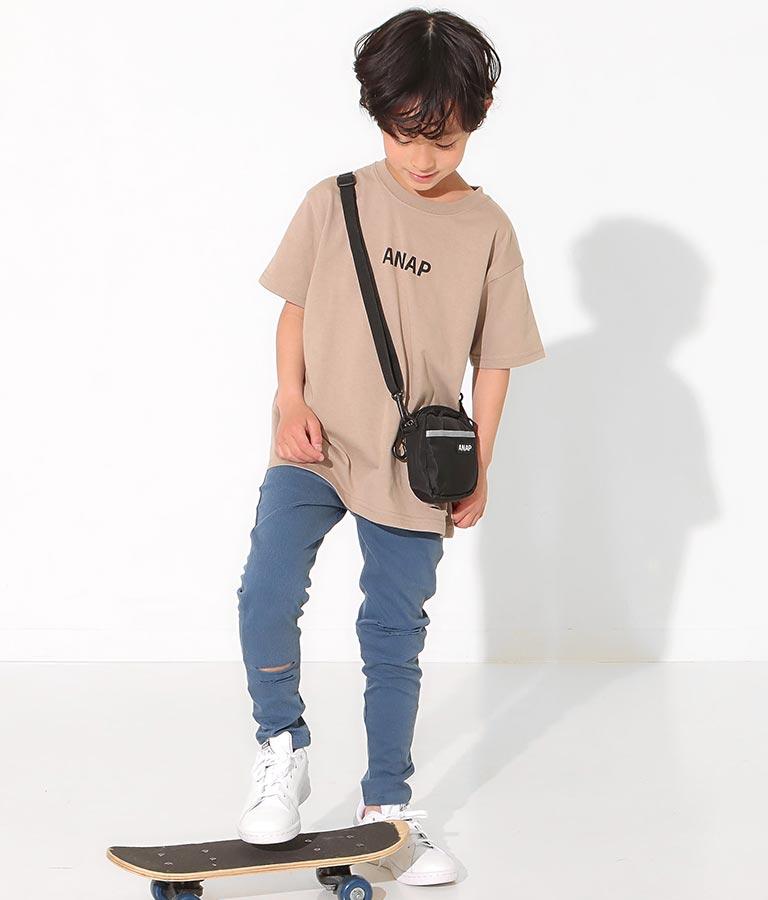 ミニバッグ付ビッグTシャツ(トップス/Tシャツ)   ANAP KIDS