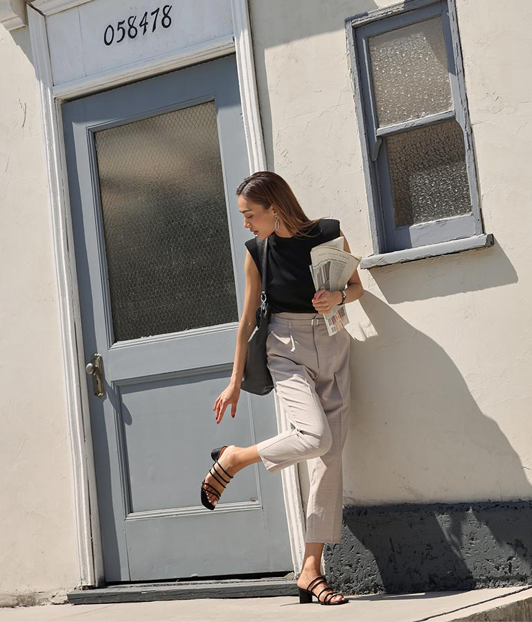 ラインデザインサンダル(シューズ・靴/サンダル) | Alluge