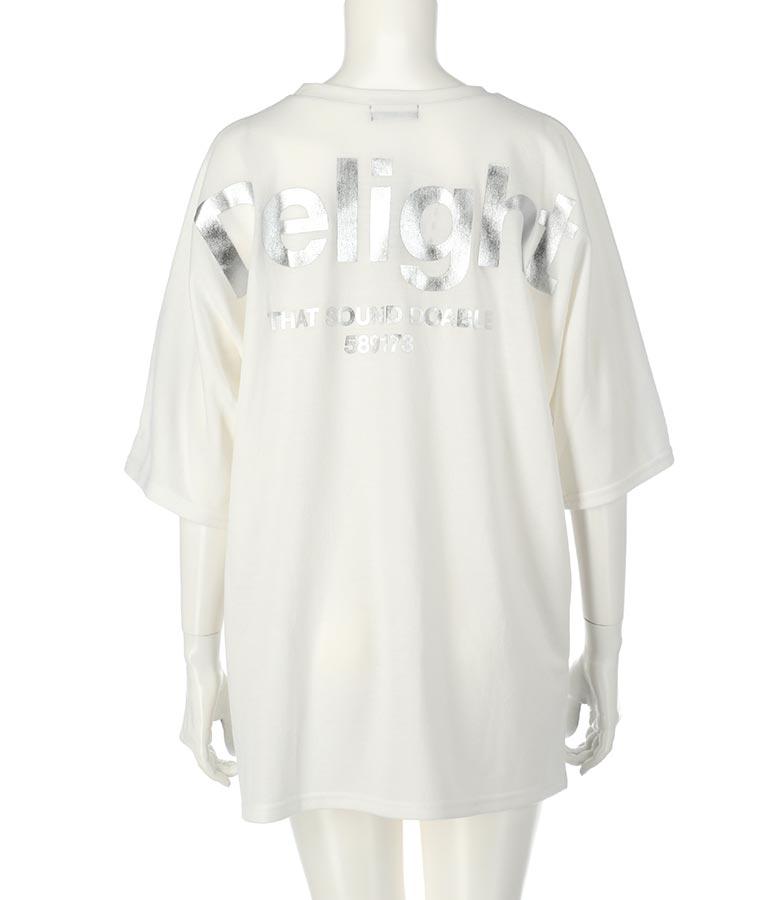 ANAPロゴ箔プリントミニ裏毛Tシャツ(トップス/Tシャツ) | ANAP