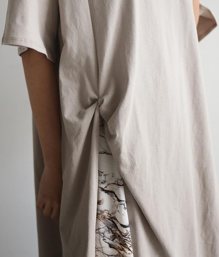 フロントスリット刺繍チュニック(トップス/Tシャツ) | ANAP