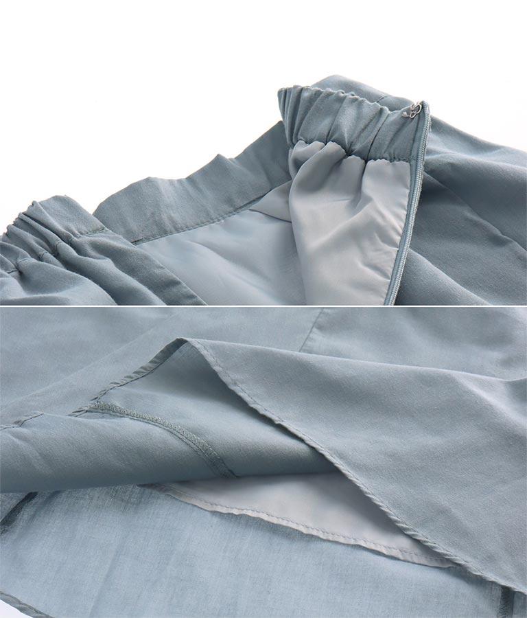 切替デザインフレアスカート(ボトムス・パンツ /スカート) | CHILLE
