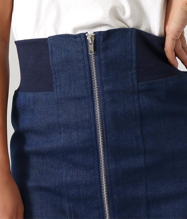 センタージップデニムミニスカート(ボトムス・パンツ /スカート) | anap Latina