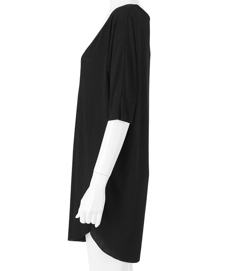 深VネックゆるてろリブTシャツ(トップス/Tシャツ) | anap Latina