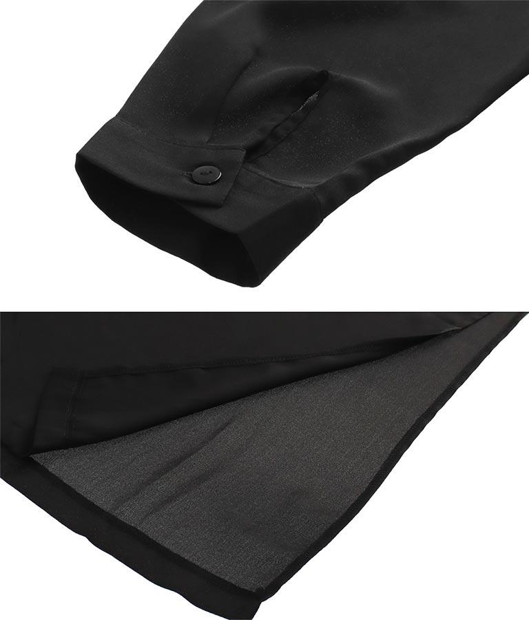 シアータッチディープスリットシャツ(アウター(コート・ジャケット) /シャツ・ブラウス・カーディガン) | anap Latina
